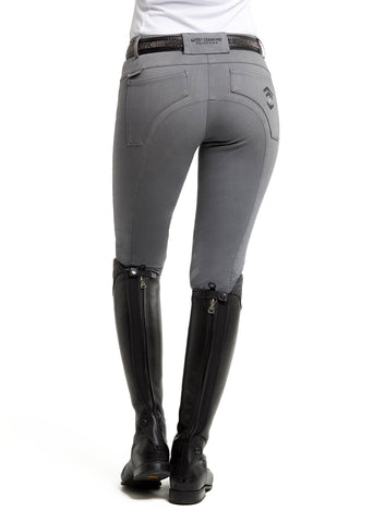 Grey Denim Breeches