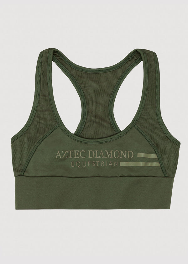 Outlet Khaki Sports Bra