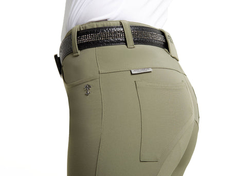 Khaki Technical Breeches