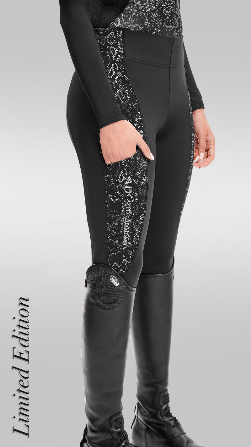 Limited Edition Serpentine Riding Leggings
