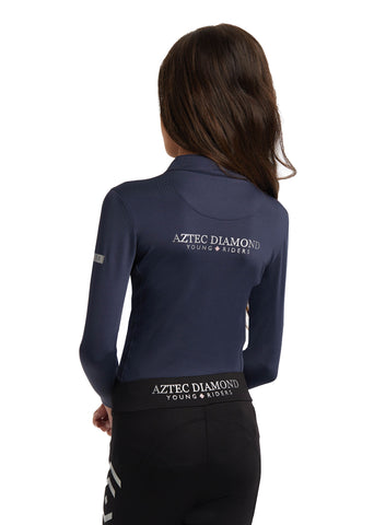Young Riders 2018 Navy Base Layer