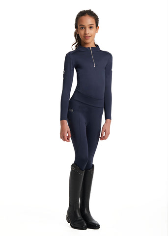 Outlet Young Riders Navy Base Layer