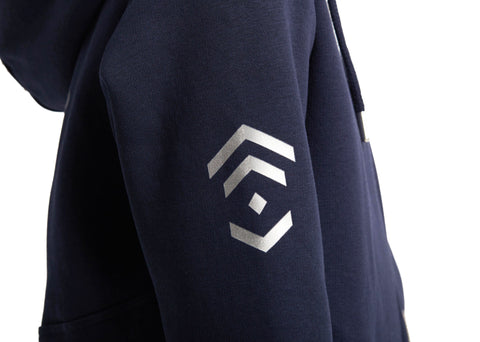 Outlet Young Riders Navy Half Zip Hoodie