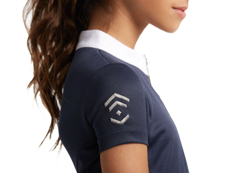 Young Riders Navy Show Shirt