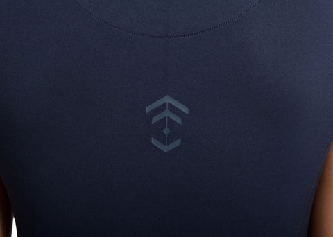 Outlet Navy Technical T-shirt