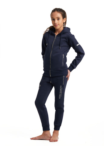 Outlet Young Riders Navy Full Zip Hoodie