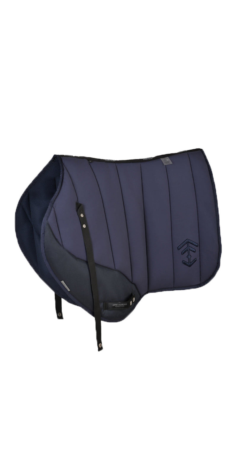 Navy Saddle Cloth