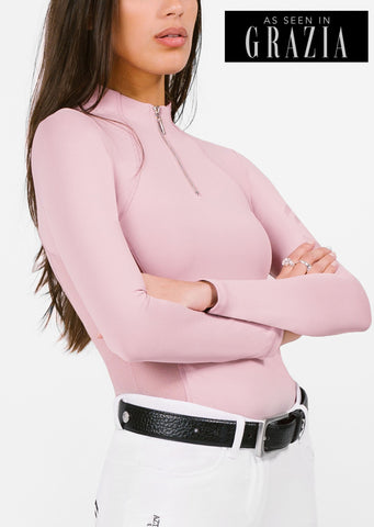 Pink Technical Stretch Base Layer