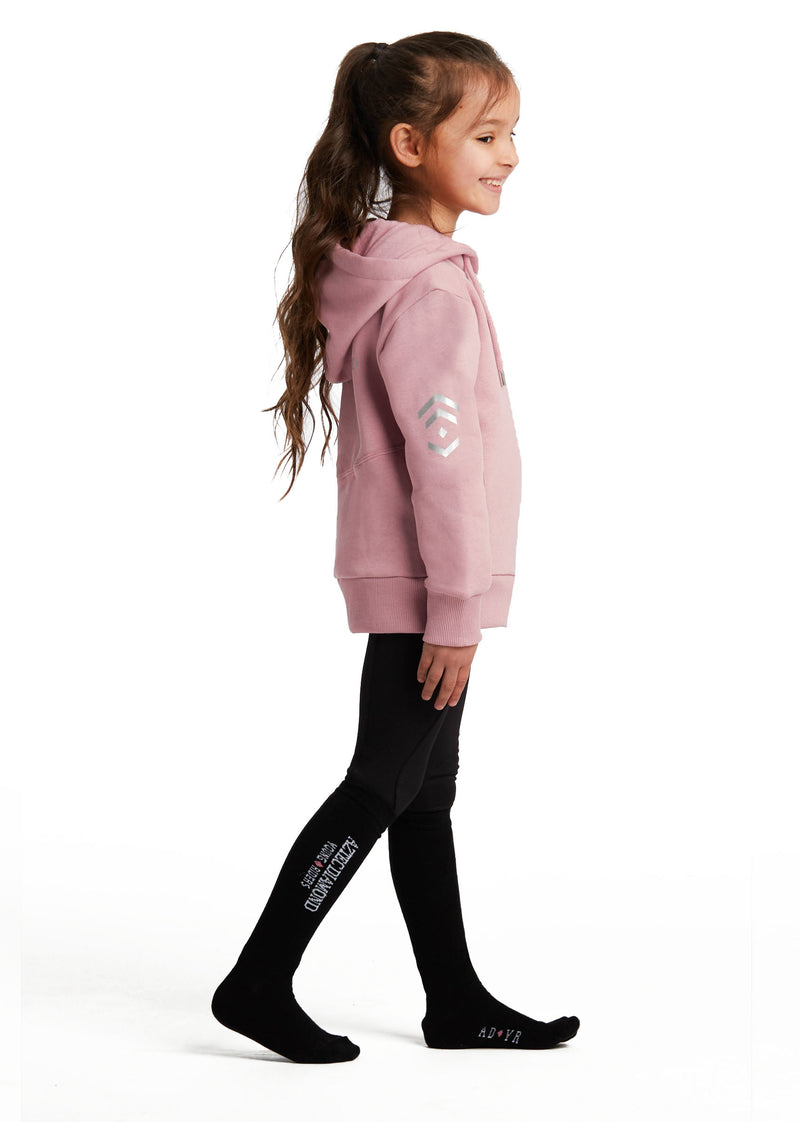 Outlet Young Riders Pink Full Zip Hoodie