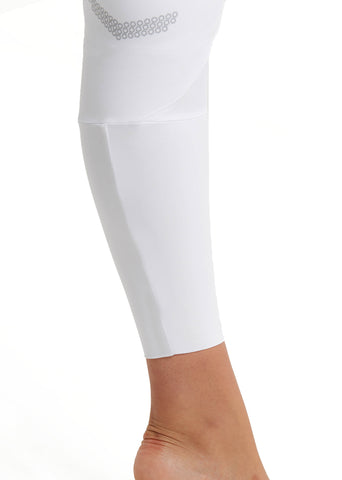 White Technical Breeches