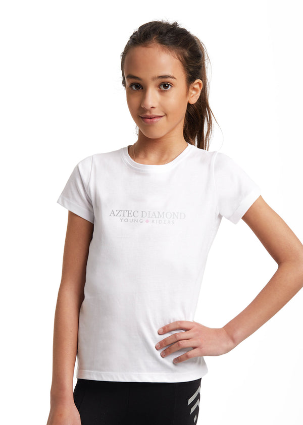 Outlet Young Riders White T-Shirt