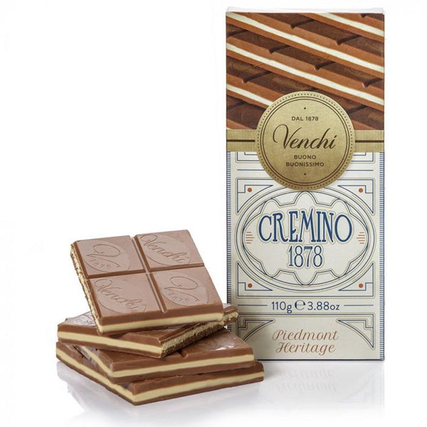 Venchi Cremino 1878 Milk Chocolate Bar 110g (6-pack)