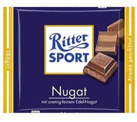 Ritter Sport Nugat (Praline) Chocolate Bar 100g (13-pack)