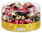 Riegelein Solid Lady Bugs in Drum 30ct