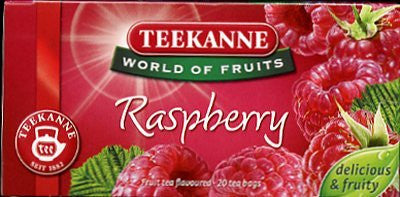 Teekanne Raspberry Herbal Tea 20 Bags