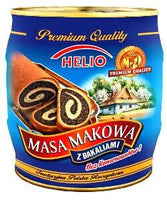 Helio Masa Makowa Poppy Seed Filling With Dried Fruits and Honey 900g