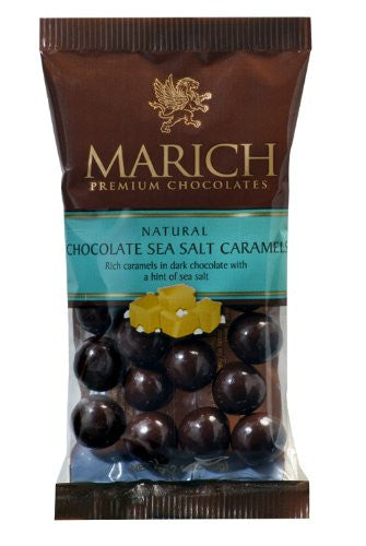 Marich Sea Salt Caramel Dark Chocolate 2.1oz (12-pack)