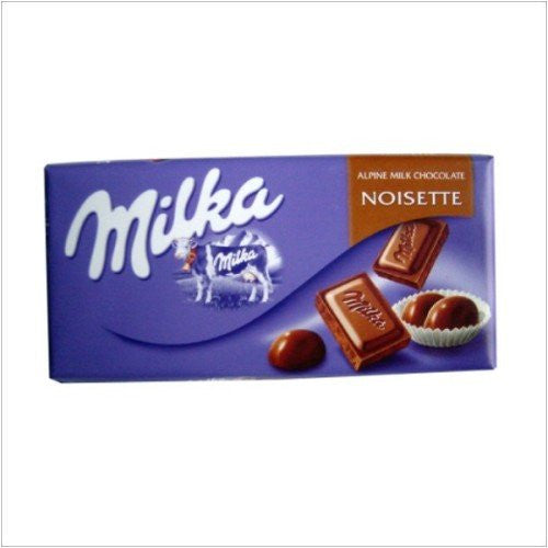 Milka Noisette Chocolate Bar 100g (10-pack)