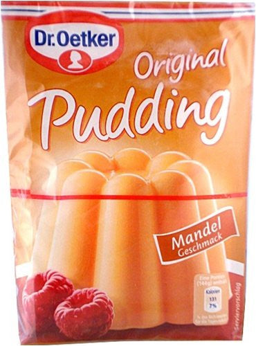 Dr. Oetker Pudding Almond (Mandel), 3-pack