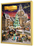 Schlunder Stollen Advent Calendar with Assorted Flavor Bites Apple Nuts Marzipan and Almond Imported from Germany