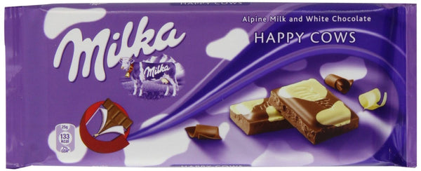 Milka Happy Cow Chocolate Bar 100g (10-pack)