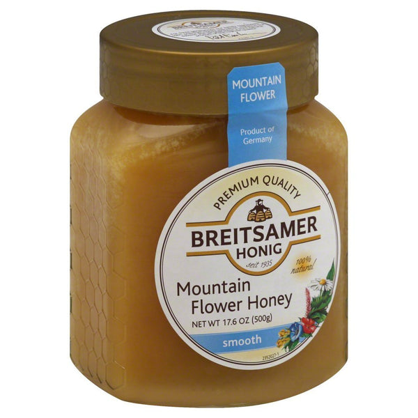 Breitsamer Creamy Mountain Honey Jar 500g (6-pack)