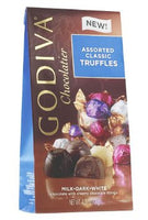 Godiva Assorted Milk-Dark-White Truffles 4.25oz (3-pack)