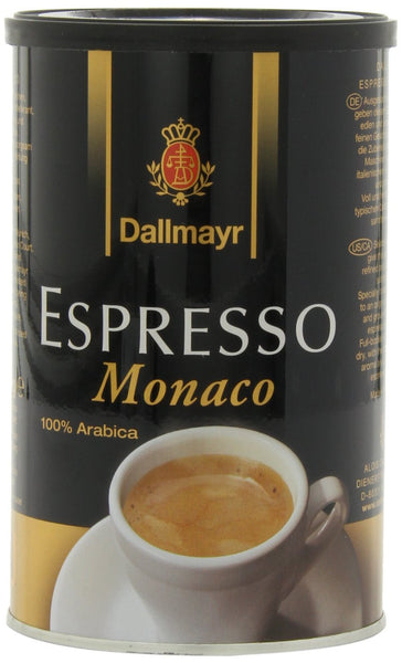 Dallmayr Espresso Monaco Ground Coffee 200g (4-pack)