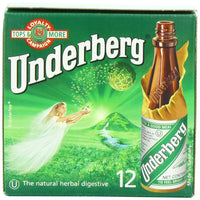 Underberg Digestive Herbal Bitters Bottles (12-pack)