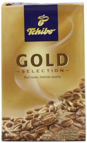 Tchibo Gold Selection Ground Coffee 250g (4-pack)