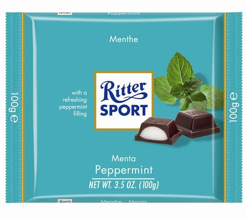 Ritter Sport Peppermint 100g (12-pack)