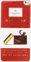 Niederegger Marzipan Classic Bar, Bittersweet, 3.5-Ounce (Pack of 6)