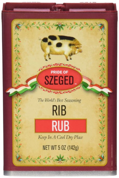 Szeged Rib Rub Seasoning Tin 5oz