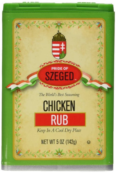 Szeged Chicken Rub Seasoning Tin 5oz