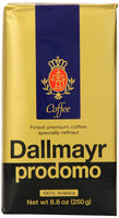 Dallmayr Prodomo Ground Coffee 250g (4-pack)