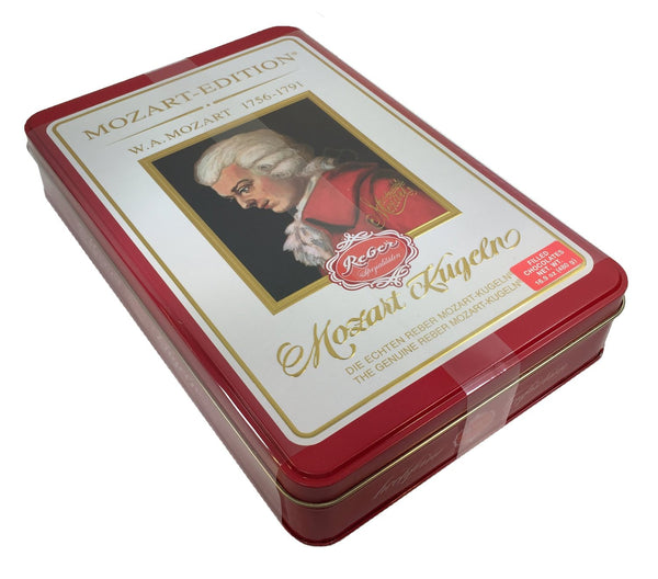 Reber Mozart Kugeln Luxury Edition Tin 16.9oz