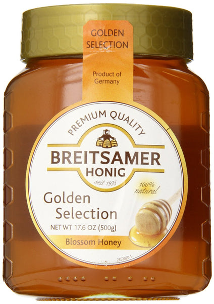 Breitsamer Golden Selection Honey Jar 500g