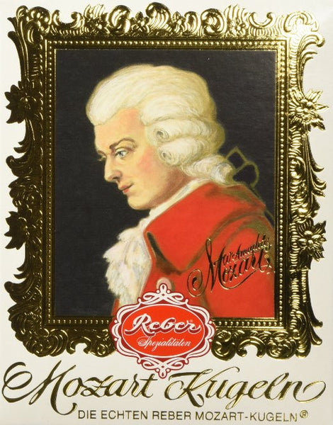 Reber Mozart Kugeln Small Portrait 4.2oz