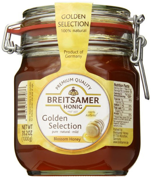 Breitsamer Golden Selection Honey Jar 1000g