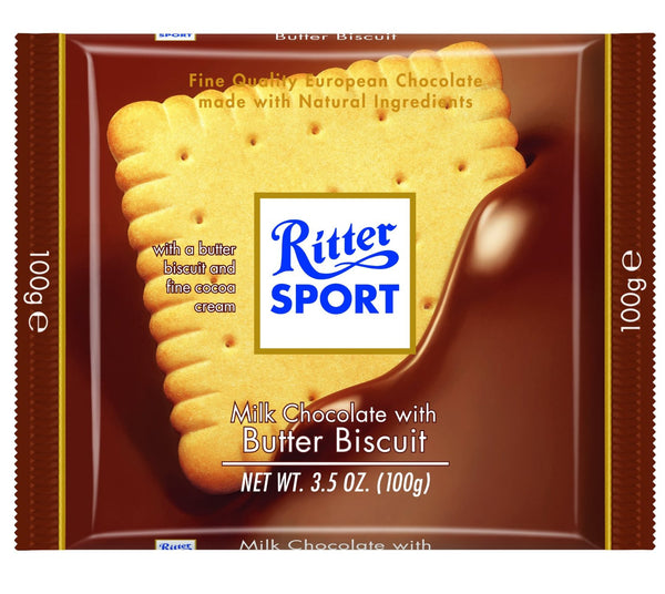 Ritter Sport Biscuit Knusper Keks Chocolate Bar 100g (11-pack)