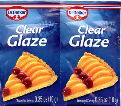 Dr. Oetker Clear Glaze Bag 0.35oz (10-pack)