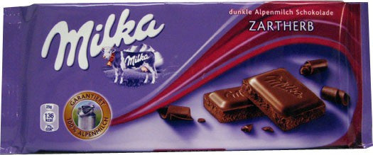 Milka Dark Chocolate Bar 100g (10-pack)