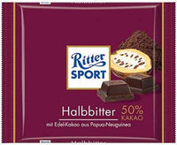 Ritter Sport 50% Dark Chocolate 100g