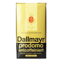 Dallmayr Decaffeinated Ground Coffee 500g (2-pack)