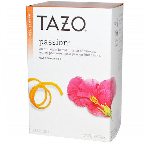 Tazo Passion 20 Count Tea Bags (6-pack)