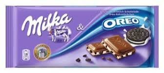 Milka Oreo Bar 100g (10-pack)