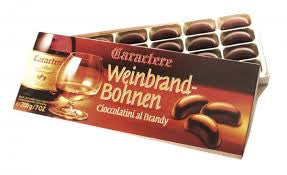 Weinbrand-Bohnen Brandy Filled Chocolate Beans 8.8oz 250g - 2 boxes