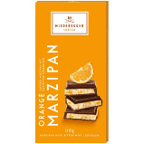 Niederegger Marzipan Orange Chocolate Bar 100g (10-pack)