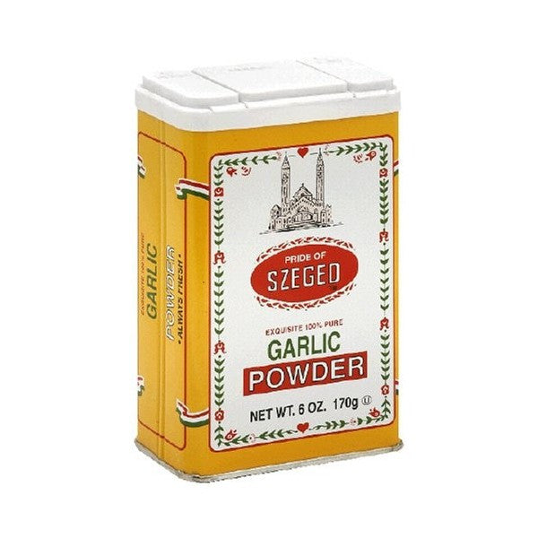 Szeged Garlic Powder Tin 5oz