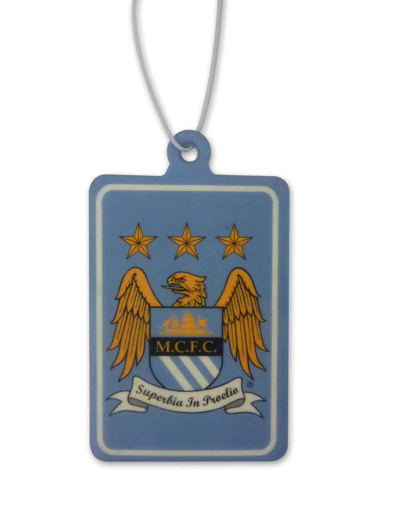 Manchester City FC Air Freshener Crest